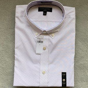 NWT Mens Slim-Fit Non-Iron Print Shirt